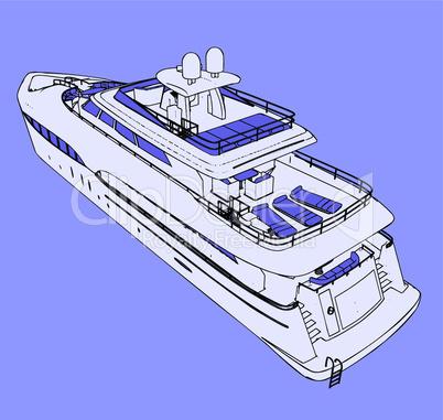 Vector yachts