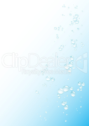 Blue drops background