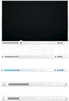 Browser video player