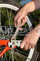 repair of bicycle