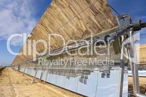 Renewable Energy Parabolic Trough Solar Mirror Panels
