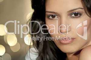 Beautiful Latina Hispanic Young Woman