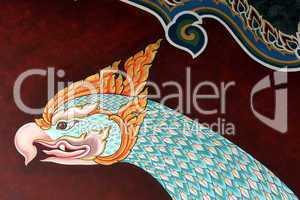 temple art in bagkok,thailand