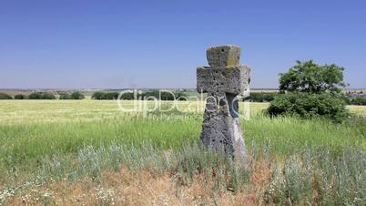 Ancient tomb cross (Full HD)