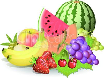 verschiedenes Obst