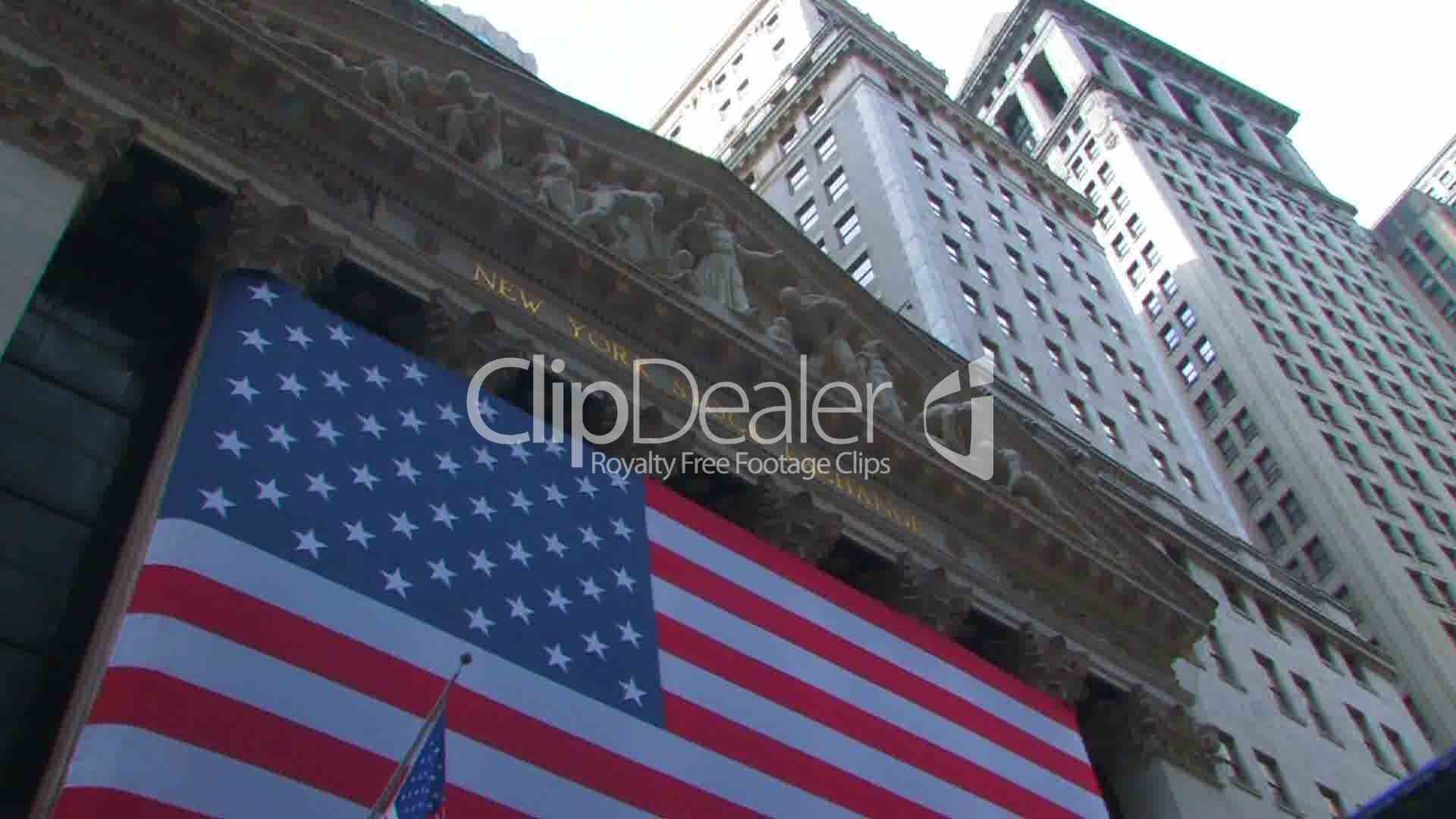 Wall Street Stock Market New York: Royalty-free video and ...