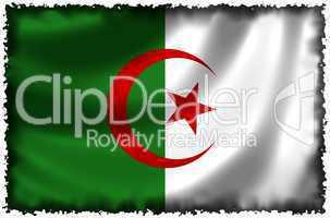 Nationalfahne von Algerien
