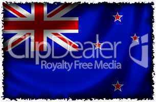Nationalfahne von Neuseeland