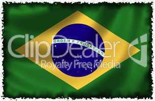 Nationalfahne von Brasilien