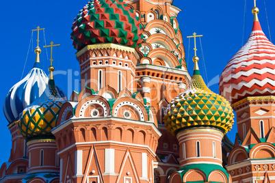Saint Basil's Cathedral domes