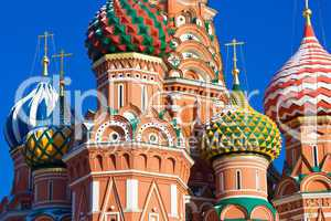 Saint Basil's Cathedral domes