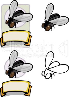 Organic Housefly Design