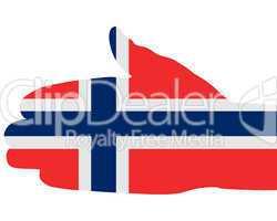 Norwegischer Handschlag