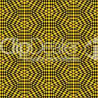 yellow and black woven stars