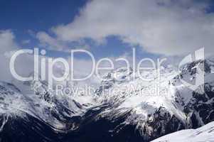 Caucasus Mountains. Dombay