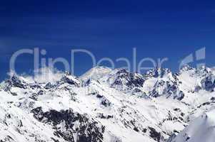 Caucasus Mountains. Elbrus.