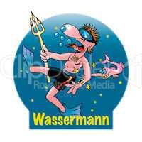 Lustige Sternzeichen: Wassermann
