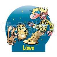 Lustige Sternzeichen: Löwe