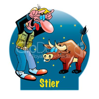 Lustige Sternzeichen: Stier: Lizenzfreie Bilder und Fotos
