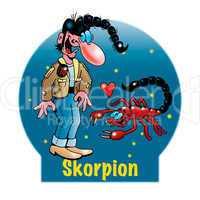Lustige Sternzeichen: Skorpion