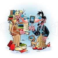 iPad contra Buch