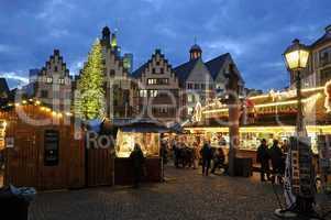 Weihnachtsmakt auf dem Frankfurter Römer