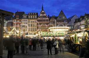 Weihnachtsmarkt auf dem Frankfurter Römer