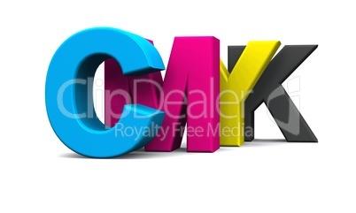 3D - CMYK Buchstaben - freigestellt 02