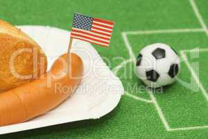 Fussball Snack