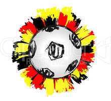 Fresh german soccer ball - Deutscher Fussball 02