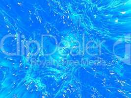 Blue water background