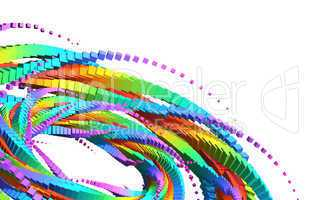 3D Rainbow Mandala 02