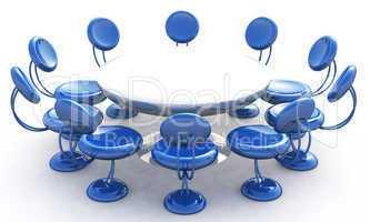 Blaue Konferenz