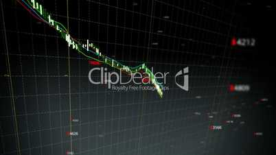 Falling stock index loop fronted