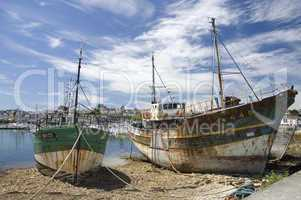 Wreck at Camaret-sur-mer