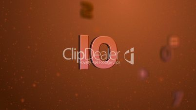 Floating Countdown Red HD1080