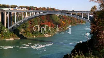 The Rainbow Bridge on the America-Canada International border.