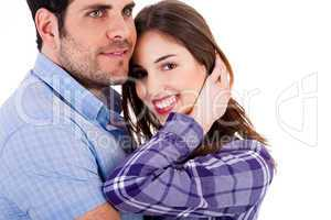 Young couples enjoying their love