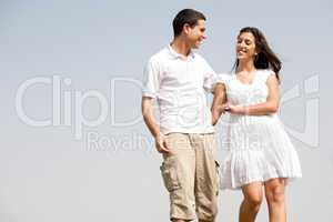 love couple walk