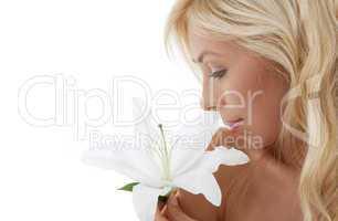 madonna lily blond