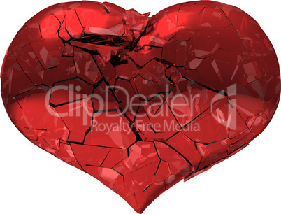 Broken Heart - unrequited love, disease