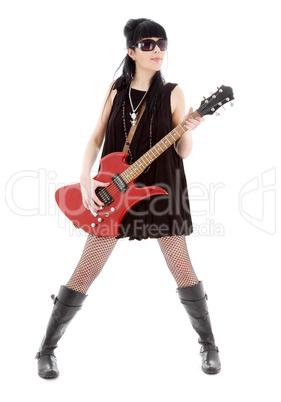 rock lady