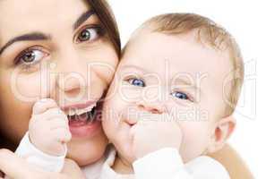 baby and mama