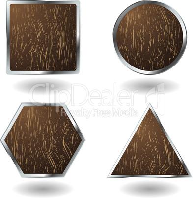 Holzsymbole