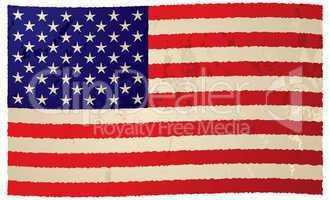 usa flag grunge flag