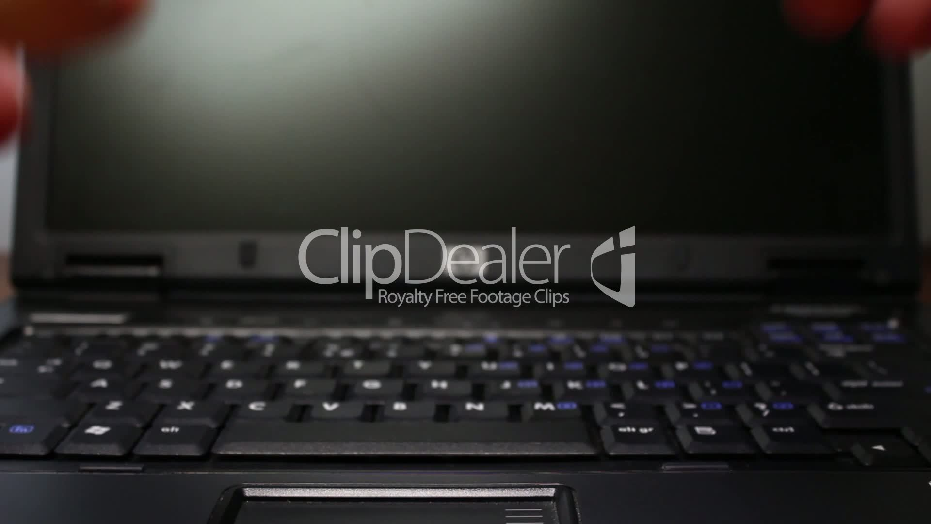 hd typing on laptop royalty free video and stock footage