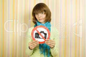 Taking photographs is prohibited