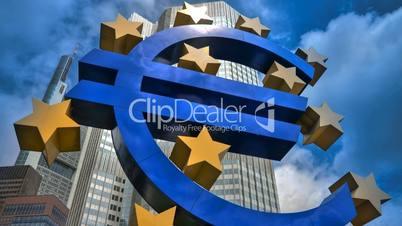 Europäische Zentralbank - Timelapse