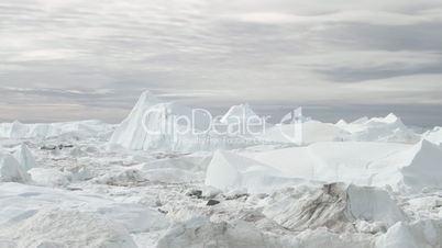 Ilulissat Icefjord time lapse
