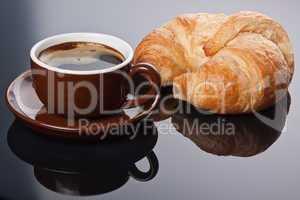 Kaffee zum Fruehstueck
